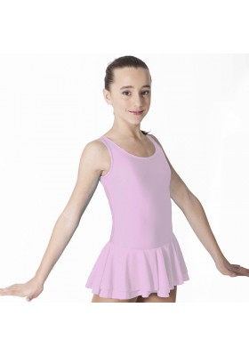Maillot patinaje Gina - Rosa