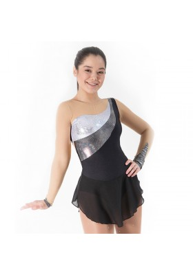 Maillot patinaje Jane - Blanco