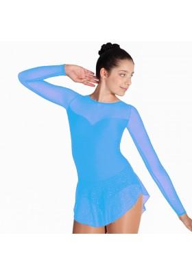 Maillot patinaje Brianna - TURQUESA