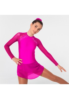 Maillot patinaje Madison - Fucsia