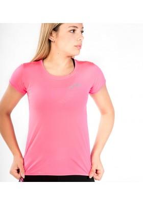 Camiseta Técnica Rosa