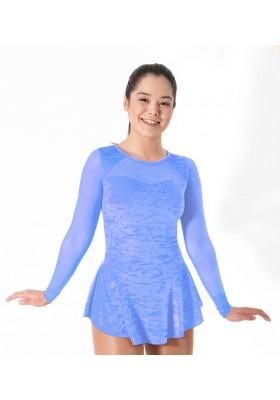 Maillot patinaje Valeria - AZUL