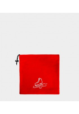 Cuello Polar Hielo Strass - Rojo